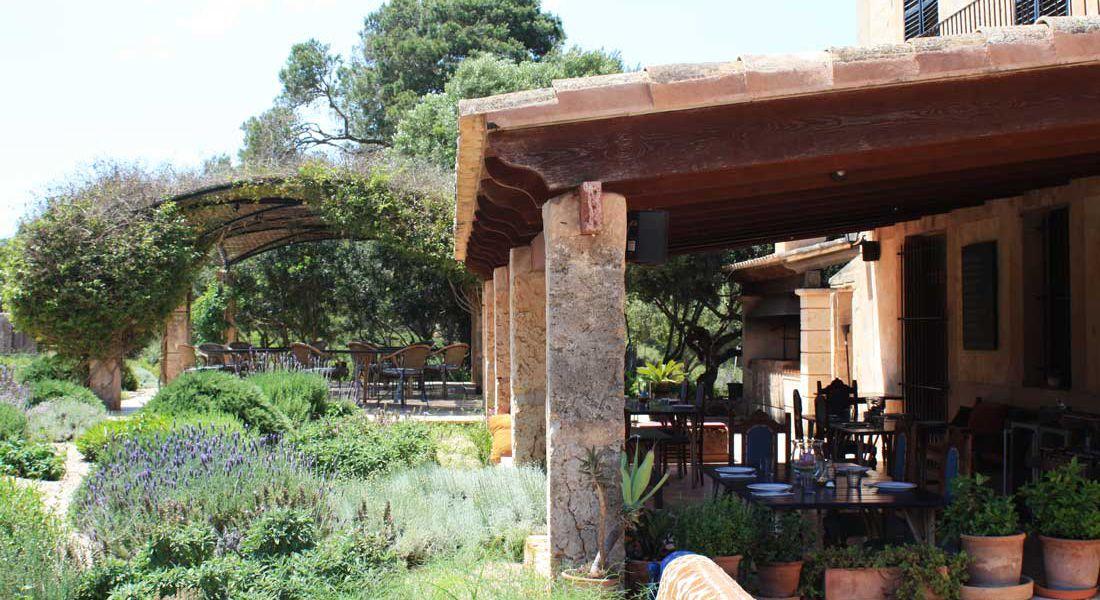 Grill restaurante for Restaurante jardin mallorca